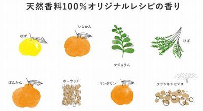 草花木果の香料