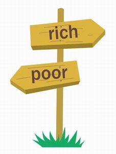 お金持ちと貧乏の境目