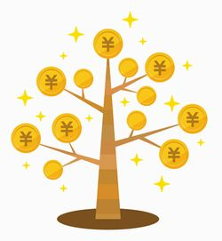 お金のなる木